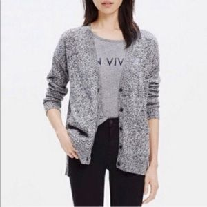 Madewell Landscape Cardigan Sweater Size Small